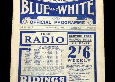 Man City v Stoke 05.10.1935