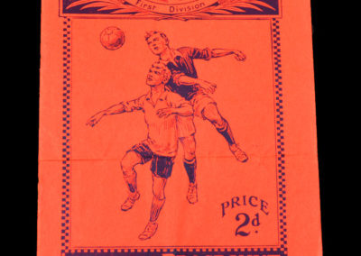 Arsenal v Derby 09.11.1935