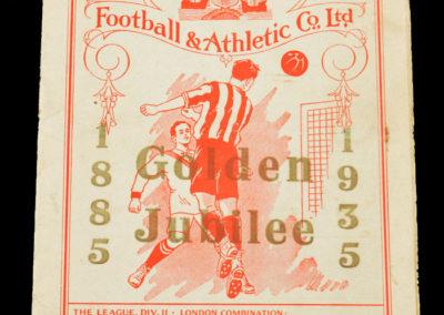 Southampton v Spurs 23.11.1935