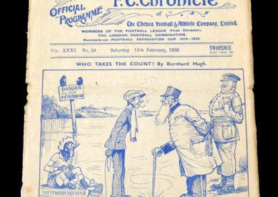 Chelsea v Fulham 15.02.1936