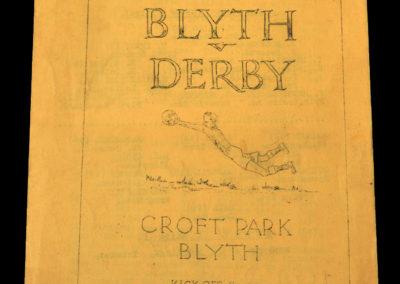 Blyth v Derby 14.03.1936