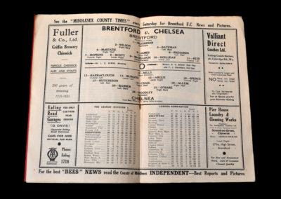 Brentford v Chelsea 28.03.1936