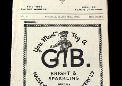 Burnley v Doncaster 28.03.1936 Tommy Lawton debut