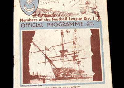 Portsmouth v Stoke 28.03.1936