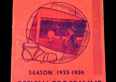 Brentford v Everton 13.04.1936