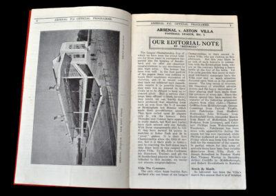 Arsenal v Aston Villa 18.04.1936