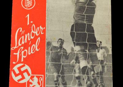 Germany v Bulgaria 20.10.1935