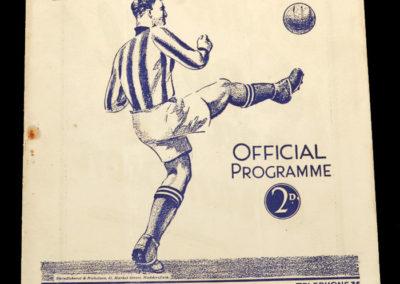 Huddersfield v Arsenal 05.09.1936