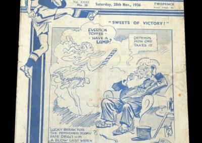 Chelsea v Everton 28.11.1936