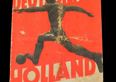 Germany v Holland 31.01.1937