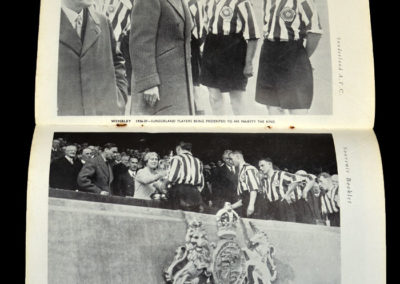 FA Cup Final - Sunderland v Preston 01.05.1937