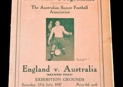 England v Australia 17.07.1937