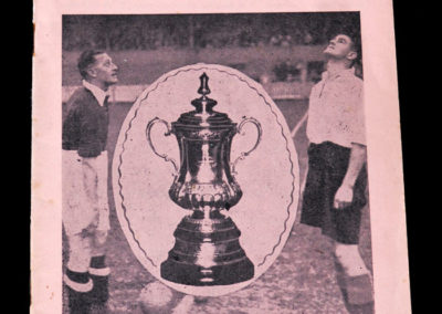 York City v Huddersfield 05.03.1938 6th rd 0-0