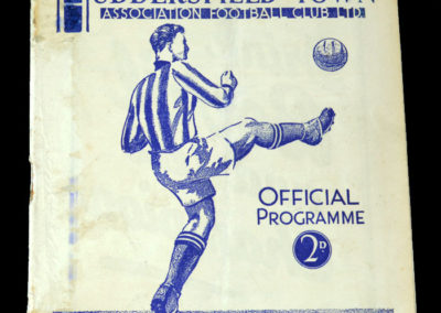 Huddersfield v York 09.03.1938 6th rd rep 2-1