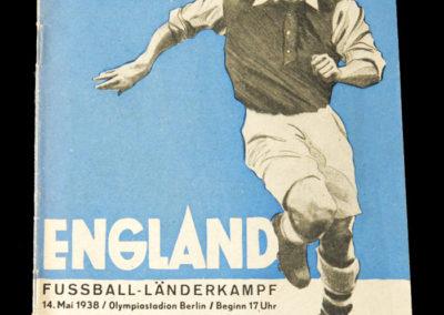 Germany v England 14.05.1938 the Nazi salute