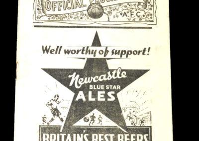 Gateshead v Sunderland 30.08.1937
