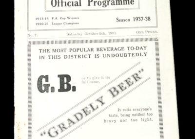Burnley v Stockport 09.10.1937