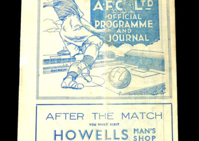 Cardiff v Walsall 09.10.1937