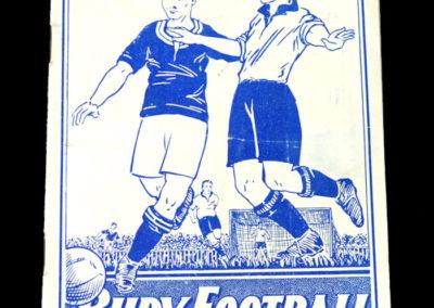Bury v Barnsley 09.10.1937
