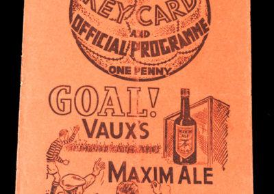 Middlesbrough v Leicester 20.11.1937
