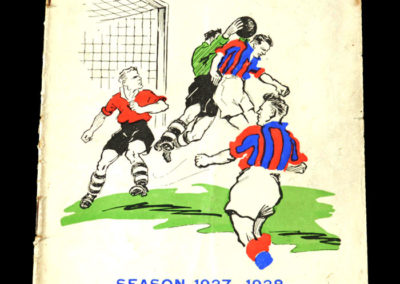Crystal Palace v QPR 05.03.1938