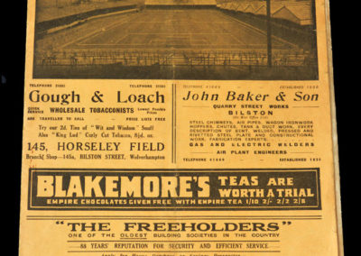 Wolves v Preston 16.04.1938