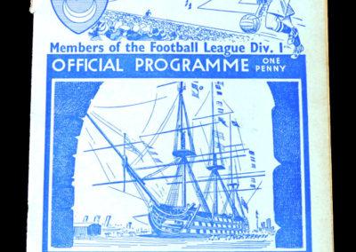 Portsmouth v Sunderland 23.04.1938