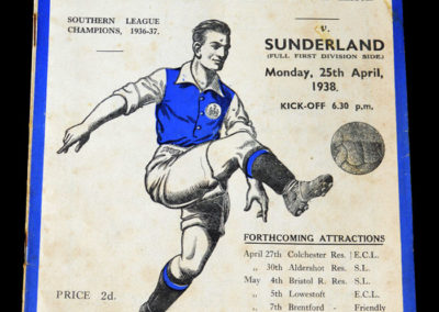 Ipswich v Sunderland 25.04.1938