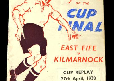 Scottish Cup Final Replay - East Fife v Kilmarnock 27.04.1938