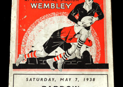 Rugby League Cup Final - Barrow v Salford 07.05.1938