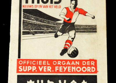 Feyenoord v Arsenal 08.05.1938