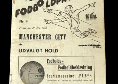 Udvalgt Hold v Man City 27.05.1938