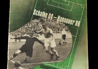 Schalke v Hanover 03.07.1938