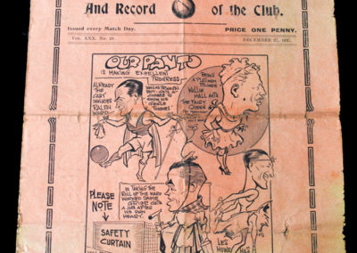 Spurs v Bury 27.12.1937