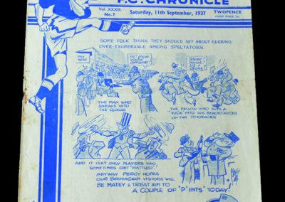 Chelsea v Birmingham 11.09.1937