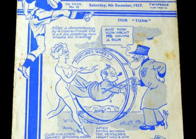 Chelsea v Huddersfield 04.12.1937