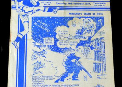 Chelsea v Wolves 18.12.1937