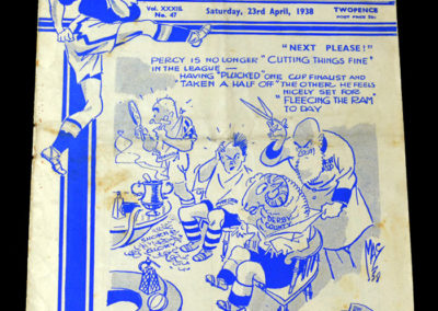 Chelsea v Derby County 23.04.1938