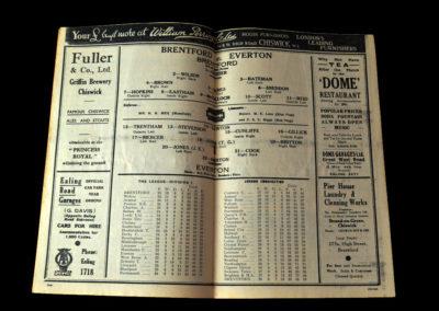 Brentford v Everton 26.01.1938