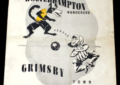 Wolves v Grimsby 25.03.1939 Semi Final 5-0