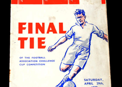 FA Cup Final - Portsmouth v Wolves 29.04.1939 hot favourites lose 4-1. The monkey gland injections dont work.