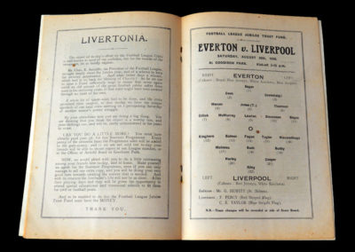 Everton v Liverpool 20.08.1938