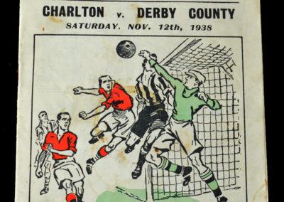 Charlton v Derby 12.11.1938