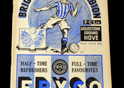 Brighton v Palace 10.12.1938