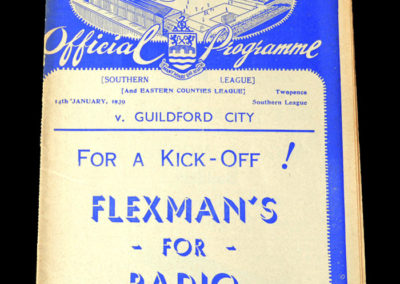 Chelmsford v Guildford 14.01.1939