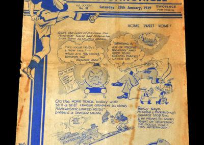 Chelsea v Man Utd 28.01.1939