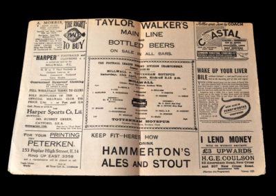Millwall v Spurs 15.04.1939
