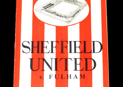 Sheffield United v Fulham 22.04.1939