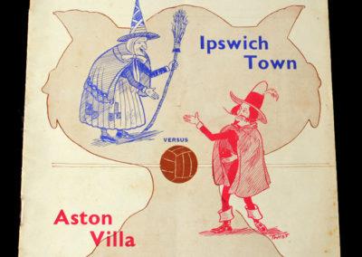 Ipswich v Aston Villa 08.05.1939 (Hospital Cup)