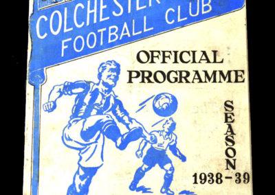 Colchester v Southend 10.05.1939